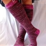 Delicious knee socks by Cosmic Pluto square crop