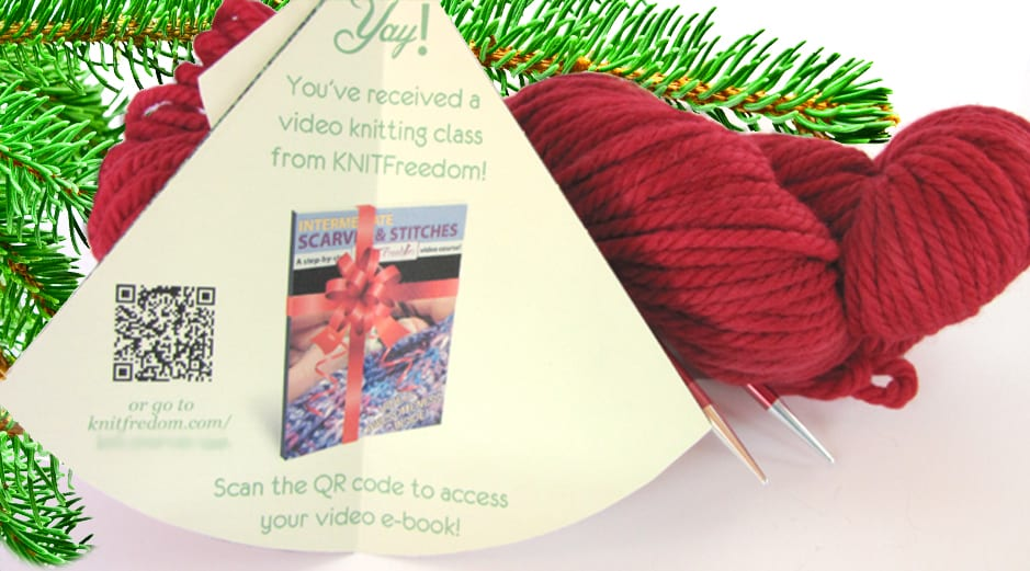 Unfolded tree e-book gift card