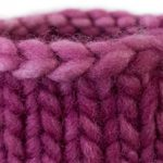 How to Neaten the Last Stitch of Your Bind Off in the Round Knitting Trick