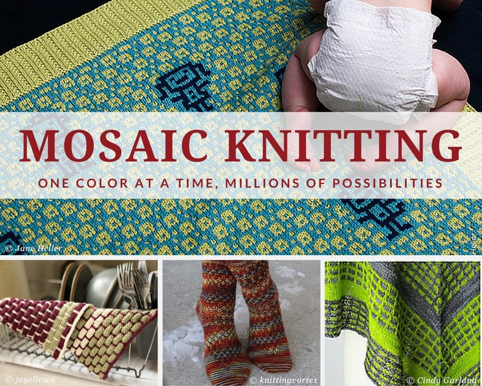 Mosaic Knitting - Patterns to Try
