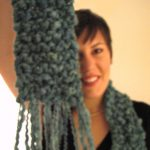 Photo Scarf BasicGarterChunky 04 LiatHoldingUp V1 square