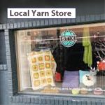 Stix Yarn Store entrance main street Bozeman