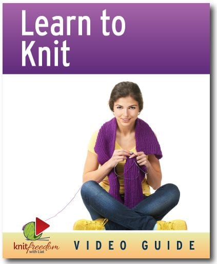 Learn to Knit ebook cover