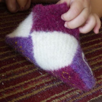 Felted slipper sparkle bottom sm crop